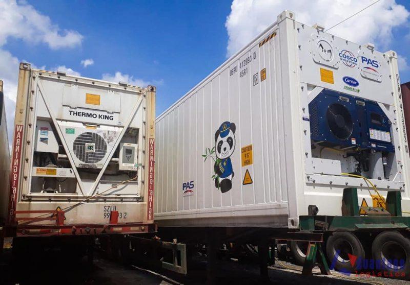 Cấu tạo của container lạnh