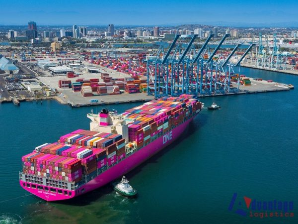 California port pileup leaves old records in the dust
