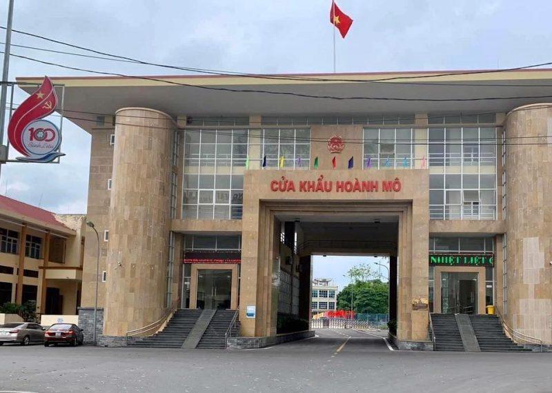 cửa khẩu Hoành Mô