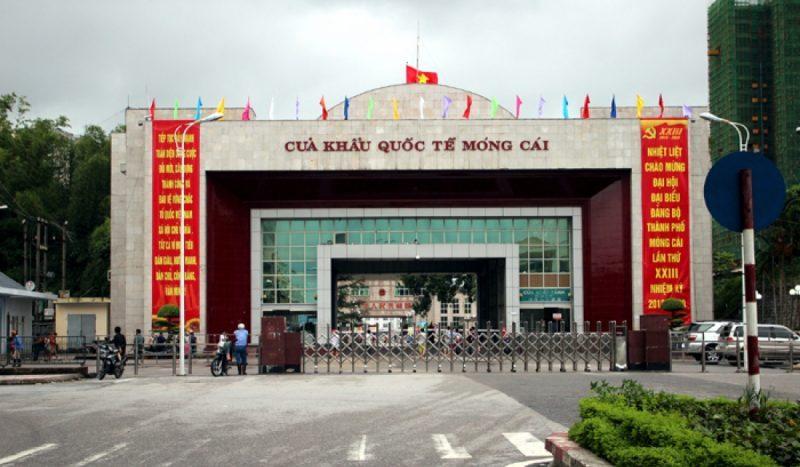 cửa khẩu quốc tế Móng Cái