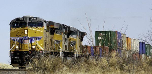 Railroads in logistics