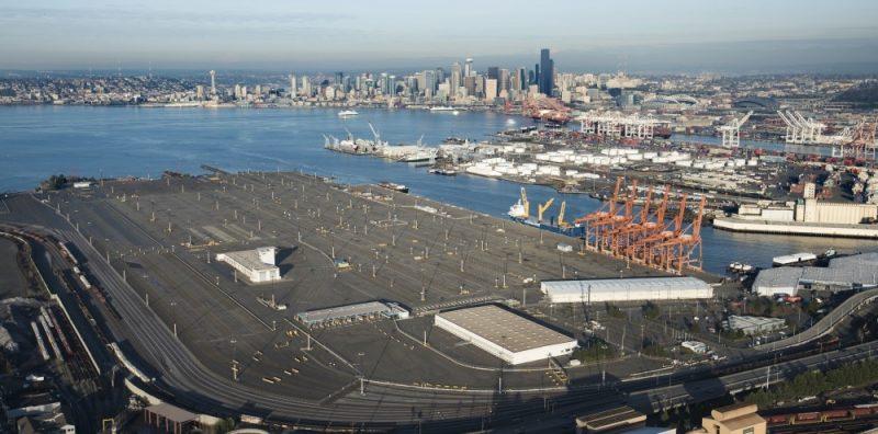 Seattle and Tacoma