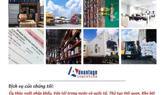Các dịch vụ của Advantage Logistics