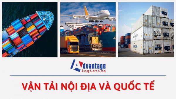 Vận tải nội địa và quốc tế