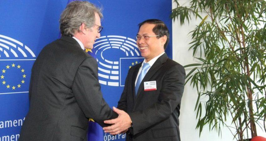 Nghị viện châu Âu thông qua Hiệp định thương mại tự do với Việt Nam - EVFTA