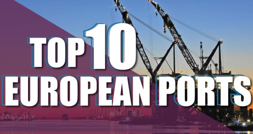 Top 10 cảng biển ở châu Âu